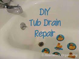 bathtub stopper leaks diy bathtub stopper entermp3 info