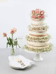 breath wedding cake