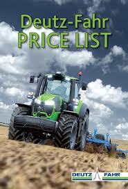 deutz fahr price list july 2016 by tractor world victoria issuu