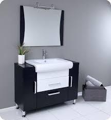 Dark Vanity Bathroom Fresca Vita Modern Bathroom Vanity Dark Wood Finish