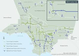 los angeles map pdf measure m metro s plan to transform transportation in la