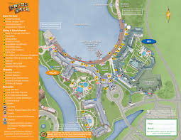Disney World Epcot Map April 2017 Walt Disney World Resort Hotel Maps Photo 25 Of 33