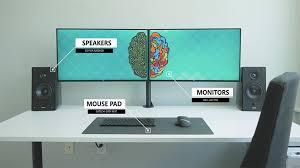 Desk Setup The Ultimate Dual Monitor Desk Setup For Your Creative Workflow