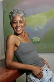black women short grey hair charla puryear by chester higgins jr barbered beauties