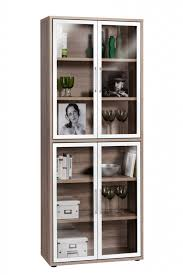 Wooden Cabinet With Glass Doors Furniture Splendid Cabinet With Glass Doors To Store Our