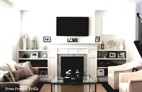 Decorating Ideas For A Small Living Room Amusing 90 Living Room Design With Tv Over Fireplace Inspiration