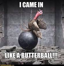 12 really hilarious and turkey thanksgiving memes