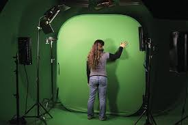 Collapsible Backdrop Rent Collapsible Green Screen Chroma Background 8 X 16