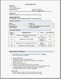 Successful Resume Format 25 Excellent Resume Format For Mba Fresher In Hr Pdf Marketing Doc