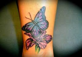 butterfly and flower tattoos 55 butterfly flower tattoos