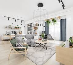 scandinavian interiors that make the lived in look inspirational full size of design by style scandinavian living room hexagonal rug light grey wooden chairs