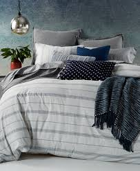 lucky brand santa fe stripe reversible full queen duvet cover set