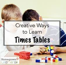 Learn Times Tables Creative Ways To Learn Times Tables U2014 Homegrown Learners