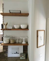 Floating Kitchen Shelves by House U0026 Home U2013 Garvinandco Com Page 8 Home Deco Pinterest