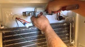 ge refrigerator fan motor replacing the fan motor in a ge americana refrigerator youtube