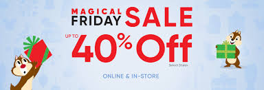 deck your halls at the disney store magical friday sale
