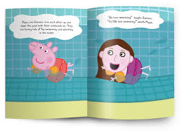 personalized peppa pig books starring your child