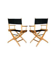 chaise de realisateur fauteuil metteur en scène noir meetings location et