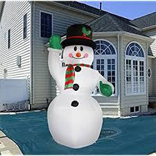 7 foot portable winter snowman