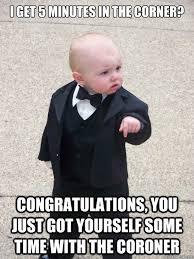 Funny Congratulations Meme - baby godfather memes quickmeme
