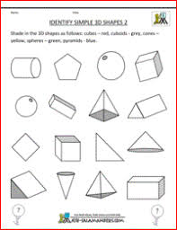 3d shape worksheet free worksheets library download and print