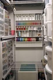 Craft Room Closet Organization - awesome closet craft rooms roselawnlutheran