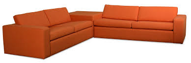 Corner Sectional Sofas by Marfa Corner Sectional Sofa With Cube Allmodern