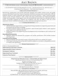 Resume Templates For Customer Service Customer Service Representative Resume Sample Resume Template