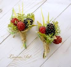 Wedding Boutonnieres Wedding Boutonniere Wedding Boutonnieres Groom Boutonnieres Berry