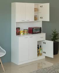 kitchen storage cabinets with drawers kitchen pantry storage cabinet with drawer doors and shelves white