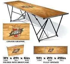 how long is a beer pong table portable pro beer pong table large tables the official store of