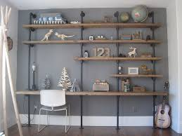 Building Wood Shelf Unit by Best 25 Galvanized Pipe Shelves Ideas On Pinterest Pipe Shelves