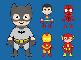 free vector graphic batman superman iron man free image