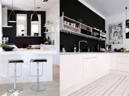 cuisine blanche mur cuisine blanche et noir 1 stunning photos cuisine blanche photos