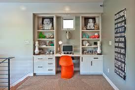Wall Desk Ideas Wall Units Stunning Built In Desk And Bookshelves Built In Desk