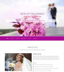 wedding web lovely wedding bootstrap free website template