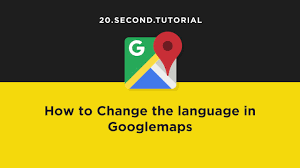 How To Change Google Maps Voice How To Change Language On Google Maps How To Change Language In
