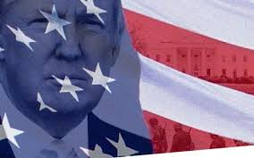 Miss Me American Flag Donald Trump Tweets Image Of Soldiers Inside The U S Flag