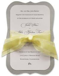 silver wedding invitations yellow and silver wedding invitations mes specialist
