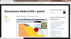 rocscience slide 6 025 patch youtube