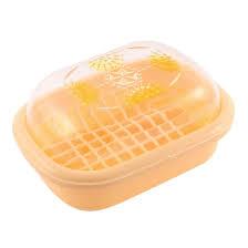 amazon com uxcell plastic clear cover bathroom soap box holder