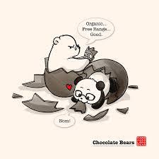 panda and polar bear u2013 a fuzzy little comic