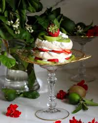 Door Is Whipped Mint By Kiwi Strawberry Pavlova Lime Coconut Yogurt Whipped Cream Taste