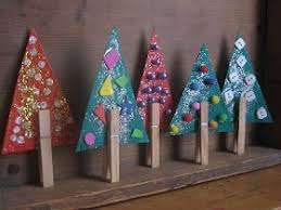 clothespin tree decorations easy craft to try