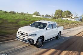 mercedes pick up the x class is mercedes benz s first pick up and it s posh this is