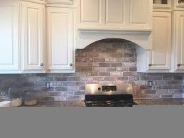 interior best faux brick backsplash ideas on white brick faux