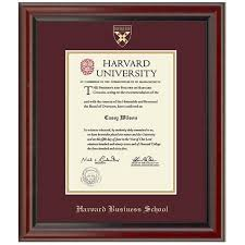 harvard diploma frame harvard business school diploma frame fidelitas graduation gift