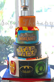 top wars cakes cakecentral wars world of warcraft harry potter comic book heros