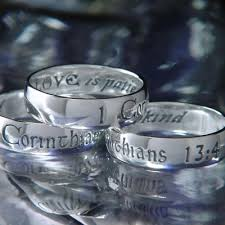 1 corinthians 13 wedding 1 corinthians 13 wedding ring 14k gold christian jewelry