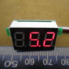 Jual Timer Dc jual 1 pcs lot portabel digital voltmeter dc 0 100 v light